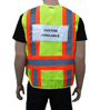 Yellow/Lime Incident Command Vest Mini-Thumbnail