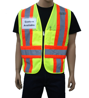 Yellow Incident Command Vest
