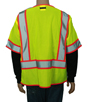 lime yellow Safety Vest Class 3 Mini-Thumbnail