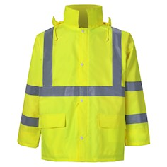 Lightweight Reflective Rain Jacket THUMBNAIL