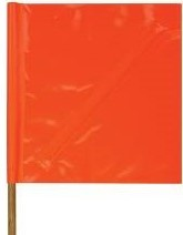 Solid Vinyl Safety Flag_MAIN