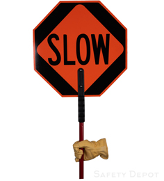 STOP/SLOW  Sign THUMBNAIL