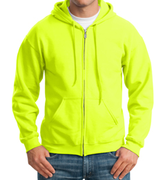 Lime Safety Hoodie THUMBNAIL