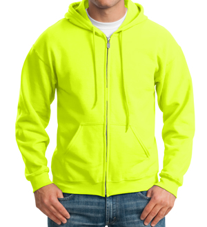 Lime Safety Hoodie MAIN