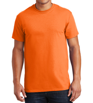 High Visibility Safety Orange T-Shirt_MAIN