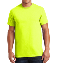 High Visibility Safety Green T-Shirt
