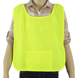Children's Yellow/Lime Safety Poncho THUMBNAIL