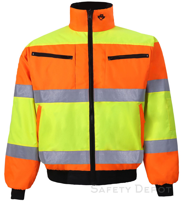 Orange/Yellow Reversible Jacket MAIN