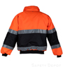 Orange/Black Safety Jacket SWATCH