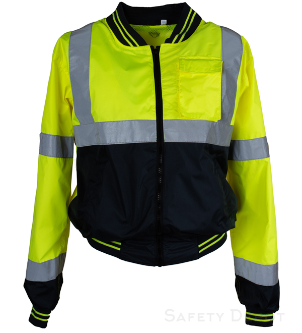 Yellow/Lime Safety Windbreaker