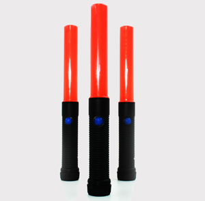 Traffic Wand led red