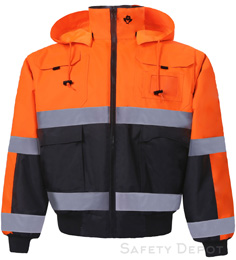 330C-3 Hi Vis Safety Jacket THUMBNAIL