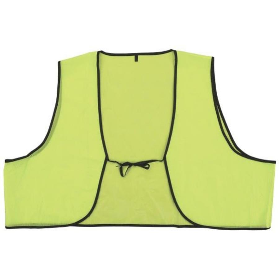 Disposable Lime Safety Vests MAIN