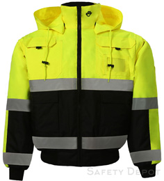 350C-3 Hi Vis Safety Jacket THUMBNAIL