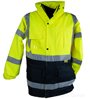 360C-3 Hi Vis Safety Jacket SWATCH