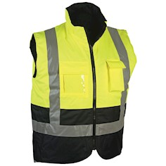 Hi Vis Safety Vest Body Warmer THUMBNAIL