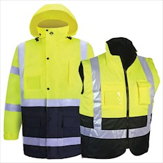 360C-3 Hi Vis Safety Jacket THUMBNAIL