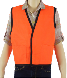 Children's Orange Safety Vest