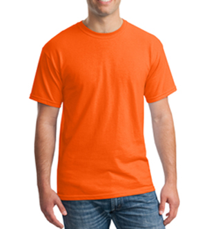 High Visibility Safety Orange T-Shirt MAIN