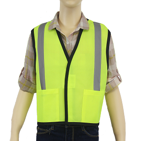 Children's Reflective Yellow/Lime Safety Vest MAIN