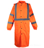 Class 3 Orange Rain Coat_SWATCH