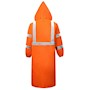 Class 3 Orange Rain Coat SWATCH