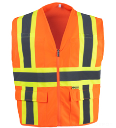 2W International  Safety Vest THUMBNAIL