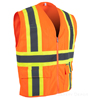 2W International 7038C-2 Safety Vest SWATCH