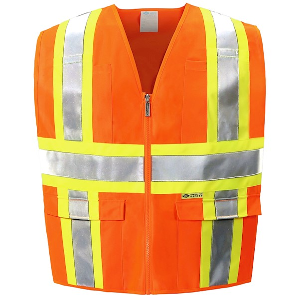 Orange Class 2 Safety Vest MAIN