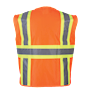 Orange Class 2 Safety Vest SWATCH