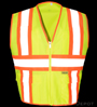 Safety yellow reflective Safety Vest SWATCH