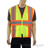 Lime yellow reflective Safety Vest Mini-Thumbnail