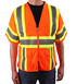 ANSI Class 3 Safety Vest, Orange