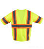 Lime/Yellow Safety Vest Class 3 SWATCH