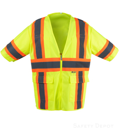 lime Safety Vest Class 3