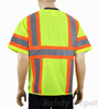 Lime/Yellow Safety Vest Class 3 Mini-Thumbnail
