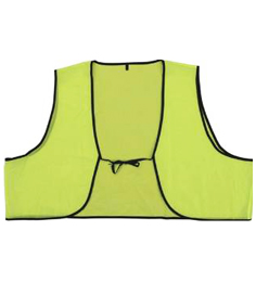 Disposable Lime Safety Vests