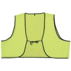 Disposable Lime Safety Vests THUMBNAIL