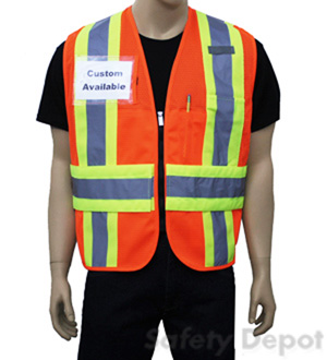 Orange Incident Command Vest