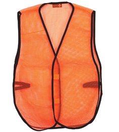 Orange Mesh Economy Safety Vest