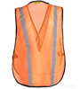 Orange Reflective Economy Safety Vest SWATCH