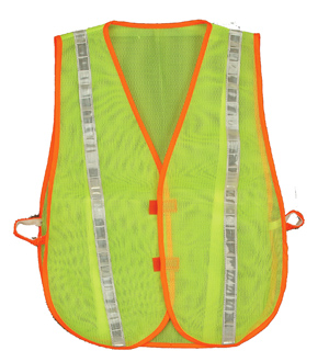 Yellow Reflective Economy Vest