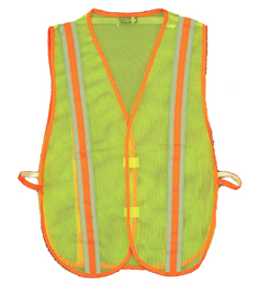 Yellow Economy Safety Vests
