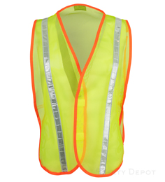 Yellow Reflective Economy Vest THUMBNAIL