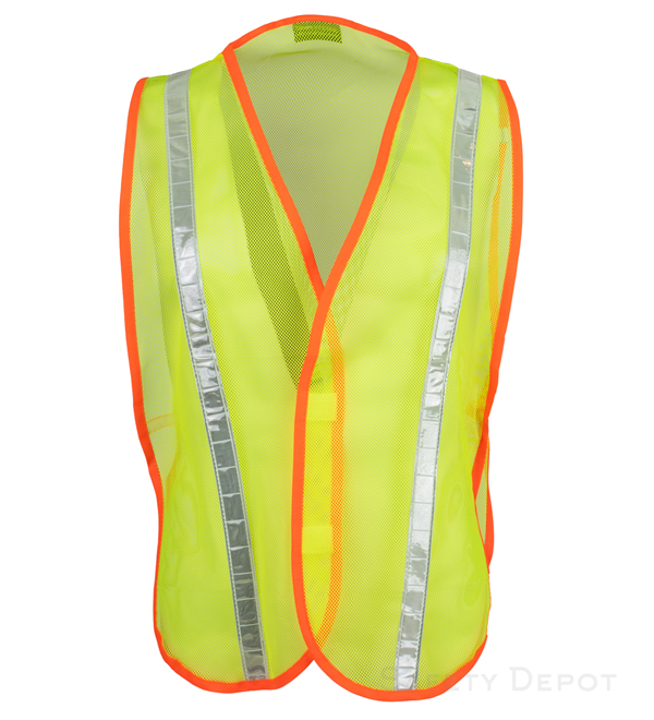 Yellow Reflective Economy Vest MAIN