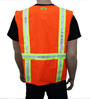 Ladies Orange Reflective Vest Mini-Thumbnail