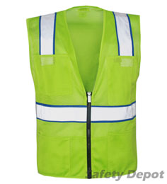 Light Green Safety Vest