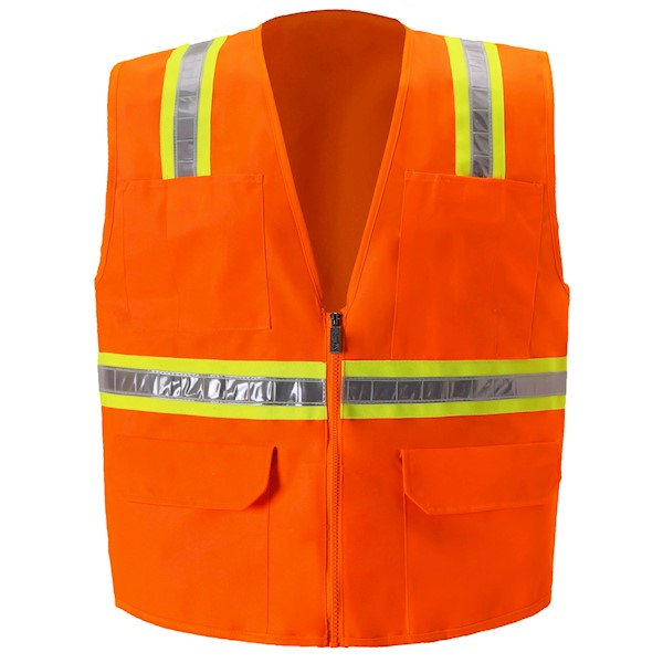 2W International 8038A Safety Vest MAIN