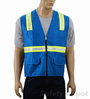 Light Blue Safety Vest Mini-Thumbnail