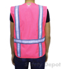 Pink Reflective Safety Vest Mini-Thumbnail